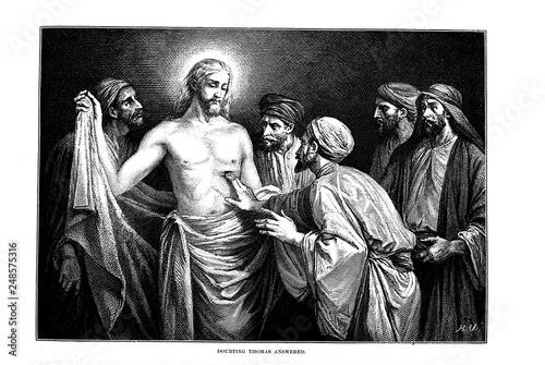 Fotografiet Illustration on religious subject.