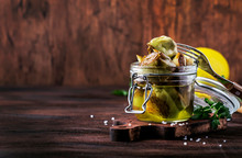 Canned Artichokes In Olive Oil...