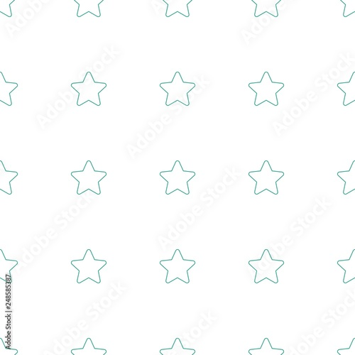 Fotografía  star icon pattern seamless white background