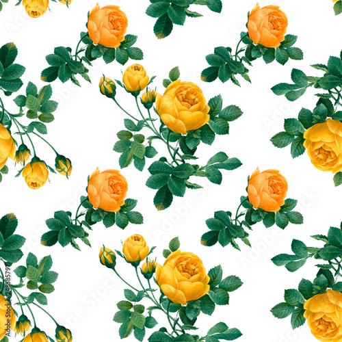 Fototapeta Floral patterned background