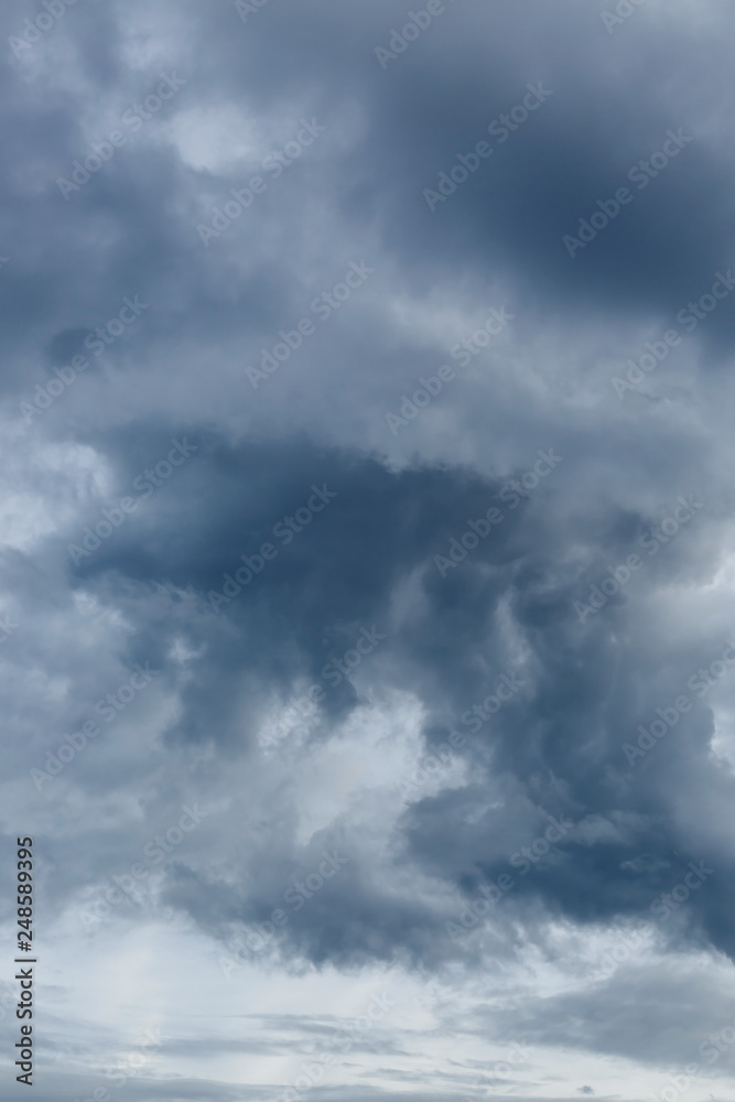 Fototapeta rain cloud dramatic moody sky background