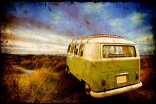 Vintage Postcard Holiday Trip
