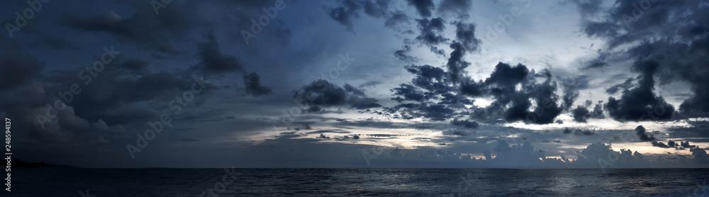 Fototapeta Cloudy sky panorama