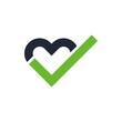 Heart love logo