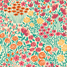 Cute Seamless Floral Pattern W...