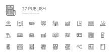 Publish Icons Set