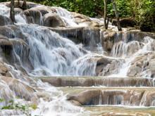 Waterfalls At Dunns River Jamaica