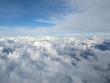 Leinwandbild Motiv View from the airplane window