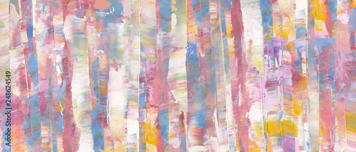 Fototapety, obrazy: Abstract wallpaper. Highly-textured oil paint as colorful background. High detail. Can be used for web design, art print, textured fonts, figures, shapes, etc.