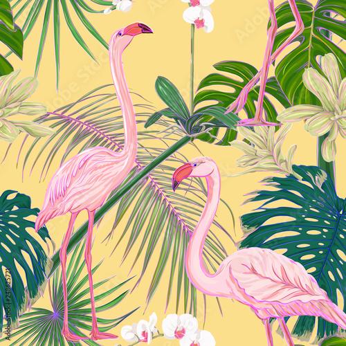 jednolite-wzor-tlo-z-roslinami-tropikalnymi