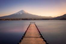 Mount Fuji Viewed From Kawaguc...