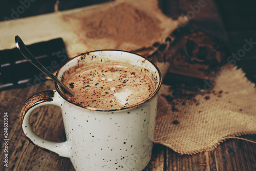 Recess Fitting Chocolate Delicious hot chocolate with mix of chocolates