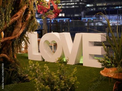 Fotografia  LOVE オブジェ