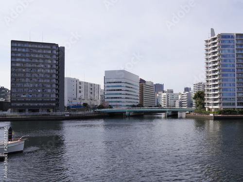 Fotografia  東京ベイエリアの都市景観