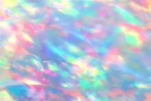 Opal Texture. Gemstone Slab, Pearl Birthstones. Unicorn Opal Vector Background. Marbling Gemstone, Birthstone Blurred Illustration