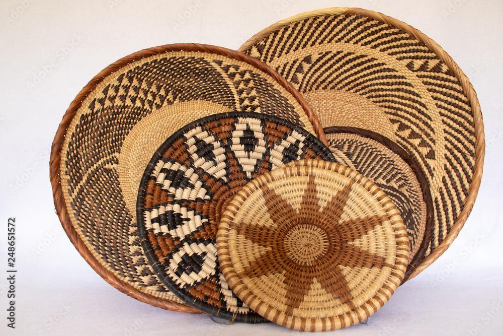 Fototapety, obrazy: african grass baskets