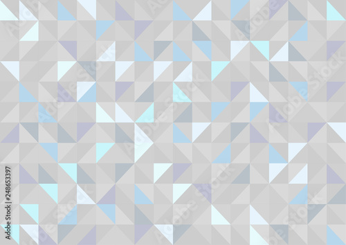 Keuken foto achterwand ZigZag Abstract geometric background. Vector illustration