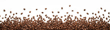 Panoramic Coffee Beans Border ...