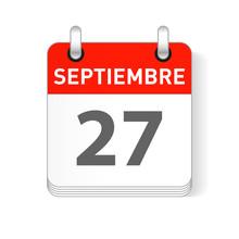 Septiembre 27, September 27 Da...