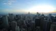 New York City manhattan midtown evening sunset view