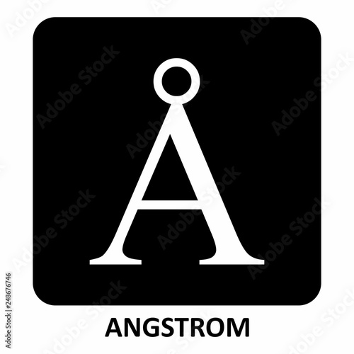 Photo Angstrom Symbol illustration