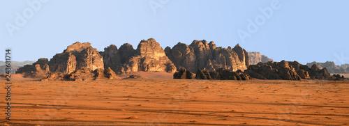 Poster Algérie Panorama Wadi Rum