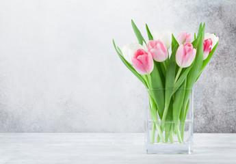 Kolorowy tulipanu kwiatu bukiet