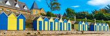 Bathing Huts On The Beach, Gra...