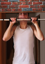 Young Man Executing Exercise P...
