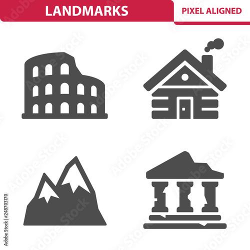 Foto  Landmarks Icons
