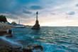 Monument to sunken ships. Sevastopol. Crimea