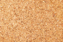 Empty Copy Space Cork Board Texture. Brown Natural Corkboard Backdrop For Graphic Design.