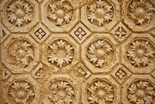 Decorative Stone Carving In An...