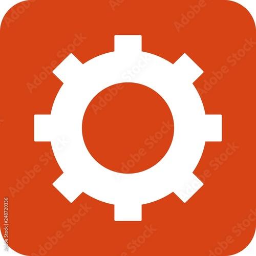 Fotografía  vector setting icon