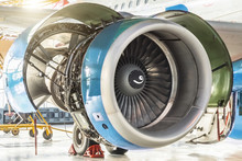 Turbine Engine Jet Of Aircraft...