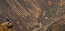 Colca Canyon Trek Near Arequipa, Peru.