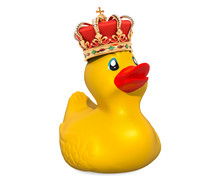 King Rubber Duck, 3D Rendering