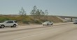 Rear right camera view of 9-angle driving plate in San Diego, California, traveling on Highway 5 Southbound, from Sweetwater River to J Street. ID: DP180714-094.
