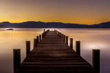 Fototapeta Most - Sunrise at Lake Tahoe
