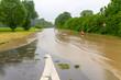 Hochwasser - Neckar bei Unterensingen
