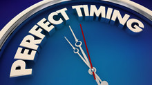 Perfect Timing Great Timeliness Clock 3d Illustration