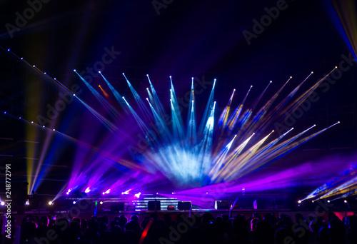 Stage lighting - 248772791
