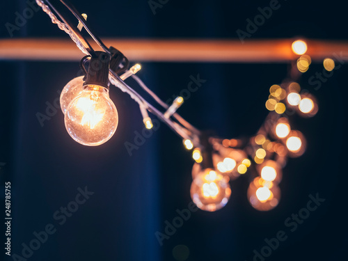 Photo  Lights decoration Event Festival outdoor Holiday blur background