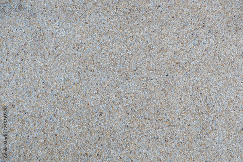 Explsed aggregate finish concrete wall and floor background texture Wallpaper Mural