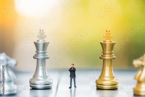 Fotografía  Business decision making concept