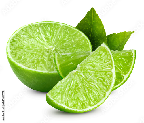 Lime vector illustration Billede på lærred