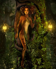 Magical Elemental Earth Fairy ...
