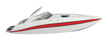 Speedboat Isolated On White Ba...