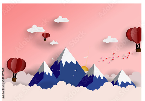 piekny-gorski-ilustracji-wektorowych-dla
