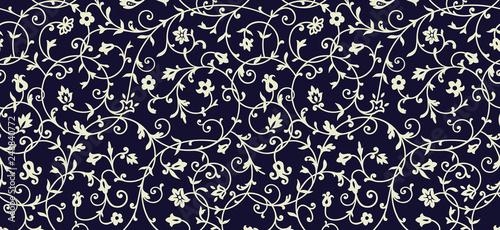 Foto  Vintage floral pattern